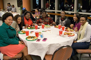 Annual Dinner 2012, Enjoying Food and Fellowship