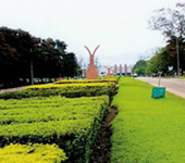 Entrance to the University of Benin