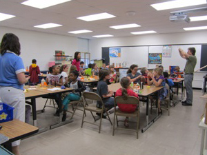 Hands-on Rocket Workshop at Spratley Gifted Center
